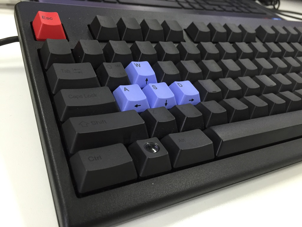 ASDW, ESC color key